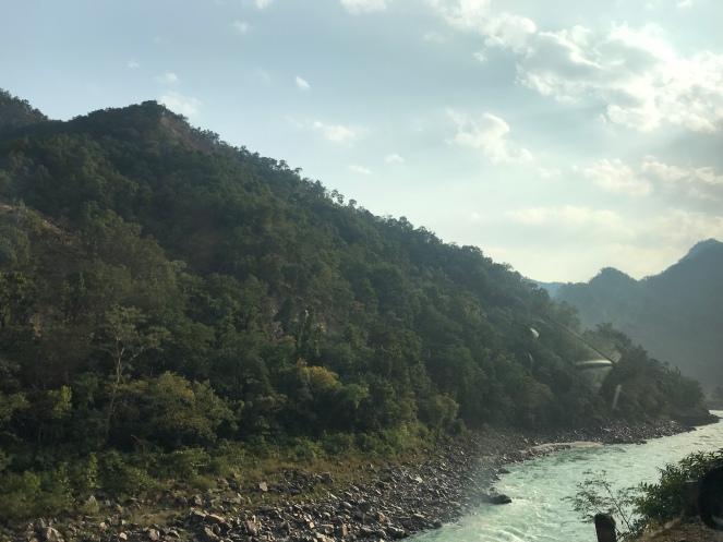 Sacred river at Sattva